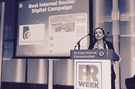 PRWeek_Internal_Comms_Conference_sharpe communications_copywriter